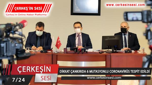DİKKAT ÇANKIRI'DA 6 MUTASYONLU CORONAVİRÜS TESPİT EDİLDİ